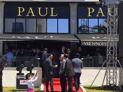 En photos : Inauguration de la boulangerie PAUL à la Marsa