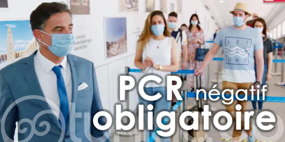 Un PCR négatif de nouveau obligatoire pour tous les arrivants en Tunisie