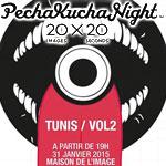 PechaKucha  Night Tunis le 31 janvier 2015 à la Maison de l´Image