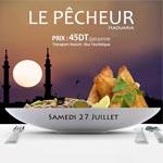 Rupture du jeûne au restaurant Le Pêcheur à El Haouaria le 27 juillet