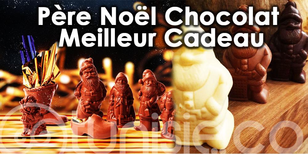 Offrez un père Noël en chocolat pour le plaisir des petits et des grands !