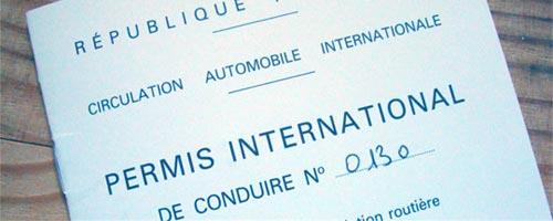 conduire en tunisie et permis international. Black Bedroom Furniture Sets. Home Design Ideas