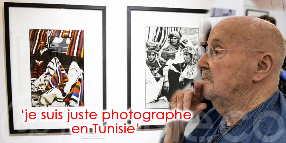 A 90 ans, le photographe Jacques Pérez garde l'''oeil'' sur la Tunisie