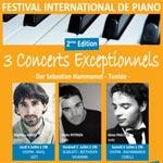 Concerts de piano jusqu'au 7 juillet 2013 à Dar Sebastian