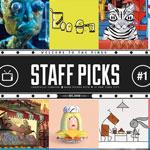 Projections mensuelles de films d´animations et de courts-métrages 'Staff Picks' à la Maison de l´image