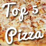 Le top 5 des meilleures variétés de Pizza à Tunis by Tunisie.co
