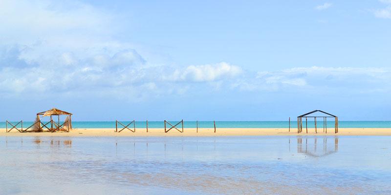 En photos : 6 plages à Bizerte pour une rupture du jeûne pieds dans l'eau