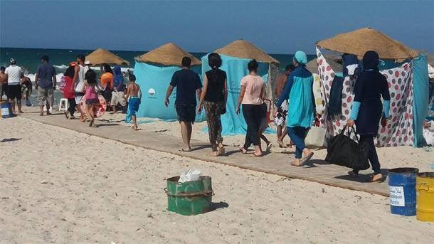 En photos : La plage de la Chebba agréable et surtout très...propre