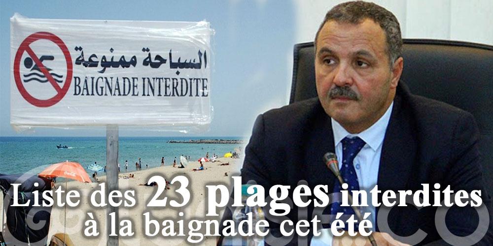 Liste des 23 plages interdites à la baignade cet été
