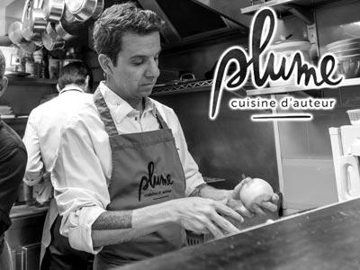 Youssef Gastli du restaurant Plume a décroché le prix Lebey de la Première Installation à Paris