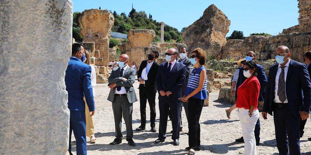 Réouverture du Musée paléochrétien à Carthage en présence de la Directrice générale de l'UNESCO