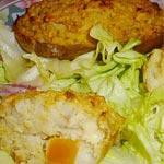 Recette : Pommes de terre farcies à la semoule de maïs façon Polenta