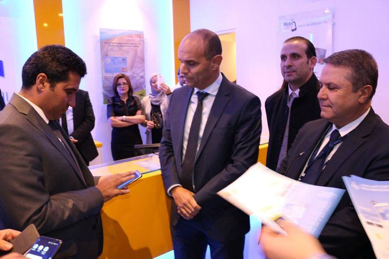 Inauguration du nouveau box de la Poste à Tunis Carthage