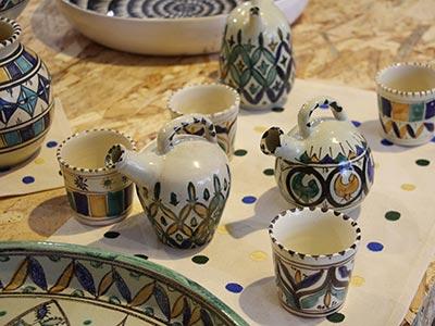 En photos : Admirez ces motifs colorés de la poterie artisanale tunisienne