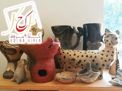 Soutenez l'artisane en poterie traditionnelle ZAZIA et partagez ses créations