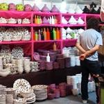 La poterie de Nabeul élégante au Salon de l'Artisanat 2012