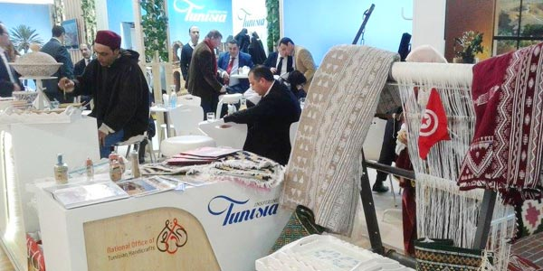 L'artisanat tunisien à l'honneur au Holiday World Prague du 16 au 19 Février