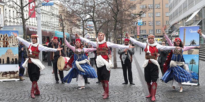 En vidéo : Le tourisme tunisien s'affiche en plein centre de Prague