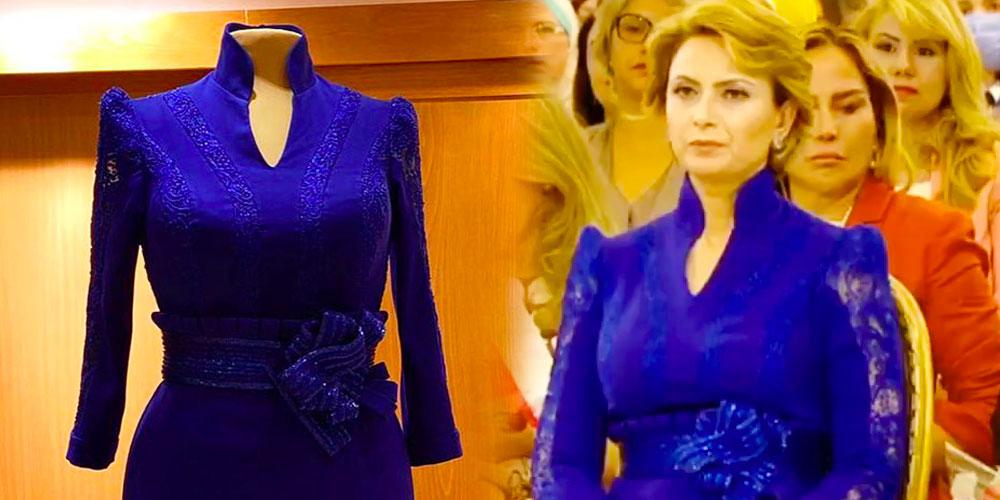 Quelle créatrice a signé la robe de la première dame ?