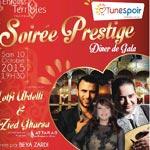 Soirée PRESTIGE de Tunespoir le 10 Octobre à Paris