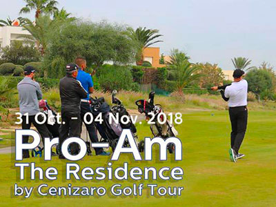 En photos : Le Pro-Am 2018 de The Residence Tunis