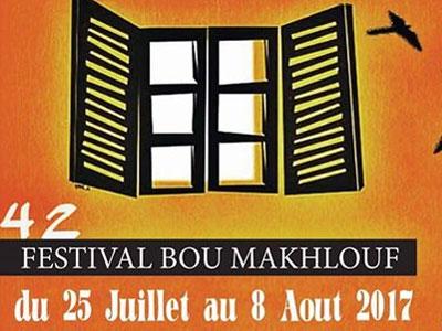 Programme de la 42ème édition Festival Bou Makhlouf du Kef