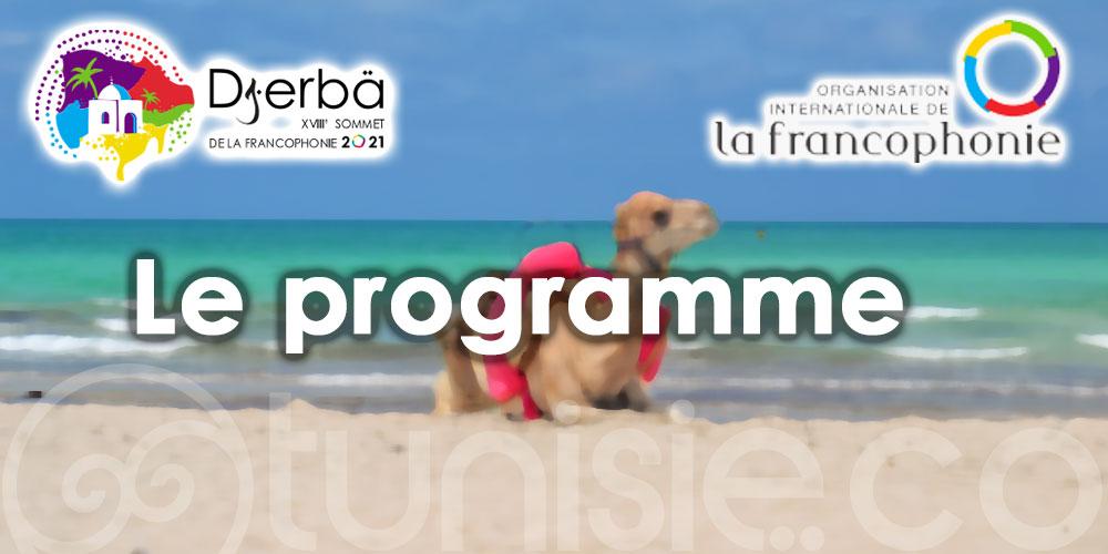 Sommet de la Francophonie Djerba 2021 : Voici le programme