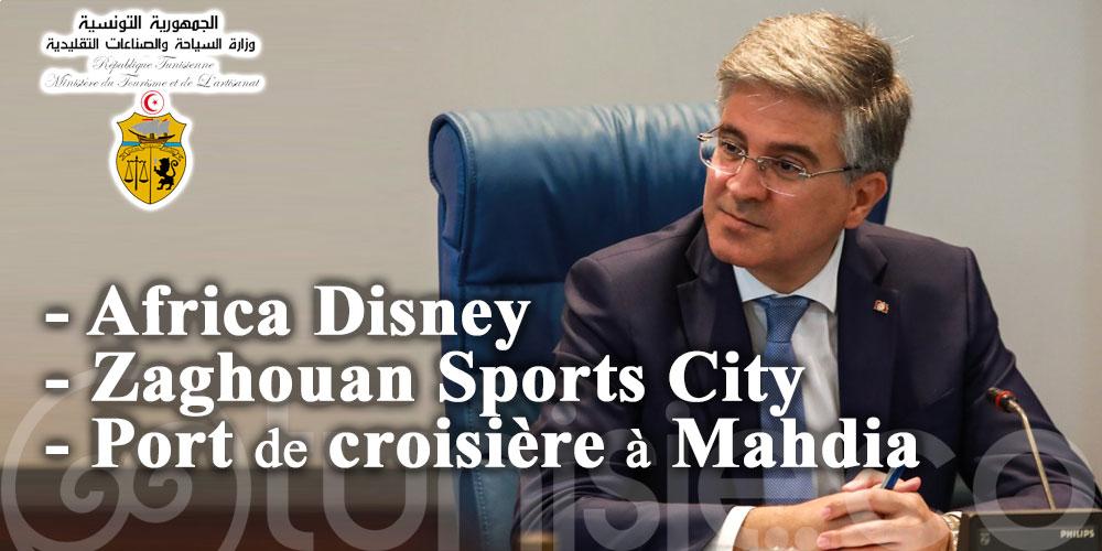 Africa Disney, Zaghouan Sports City et port de croisière à Mahdia: les divers projets de Toumi