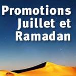 Ramadan et juillet : Idée sur les promos et offres des hôtels