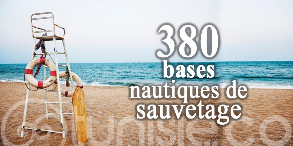 La mise en place de 380 bases nautiques de sauvetage