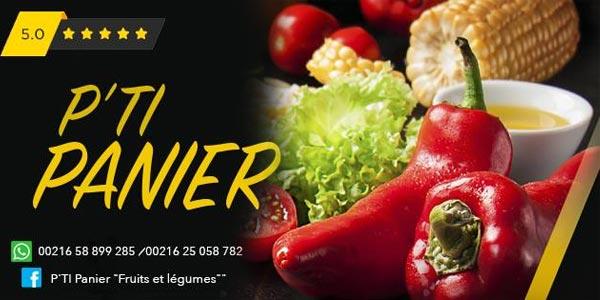 P'Ti Panier : Vos paniers de fruits et de légumes frais livrés à domicile
