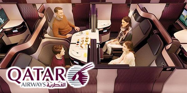 En vidéo : Découvrez l'incroyable nouvelle Business Q Suite de Qatar Airways