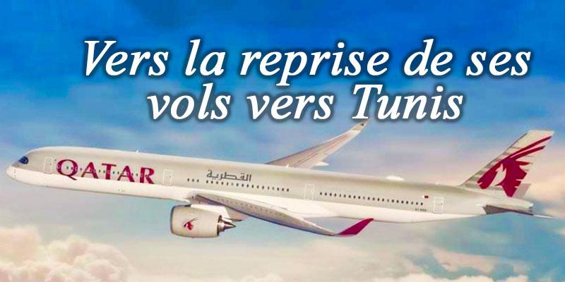 Qatar Airways pour une reprise de ses vols vers Tunis vers fin Juin