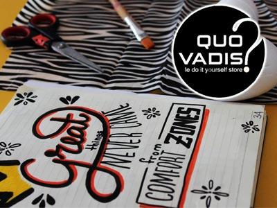 QUO VADIS, le DIY store à la Marsa, pour les passionnés de loisirs créatifs