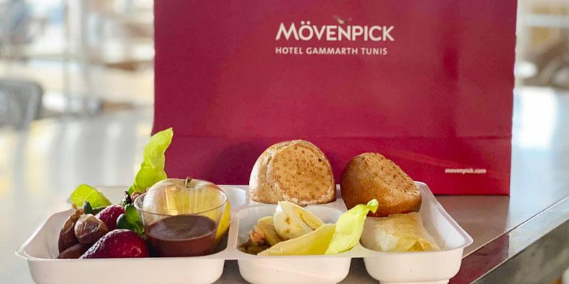 Le Mövenpick Gammarth fournit les Iftars au Staff de l'Hôpital La Rabta en charge des malades du COVID-19