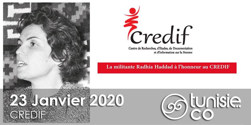 La présentation du livre - Parole de Femme - de Radhia Haddad le 23 Janvier