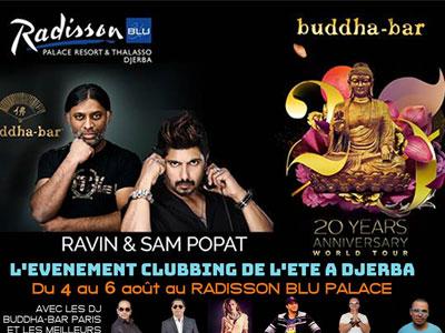 Le Buddha-Bar World Tour du 4 au 6 août à l'hôtel Radisson Blu Djerba