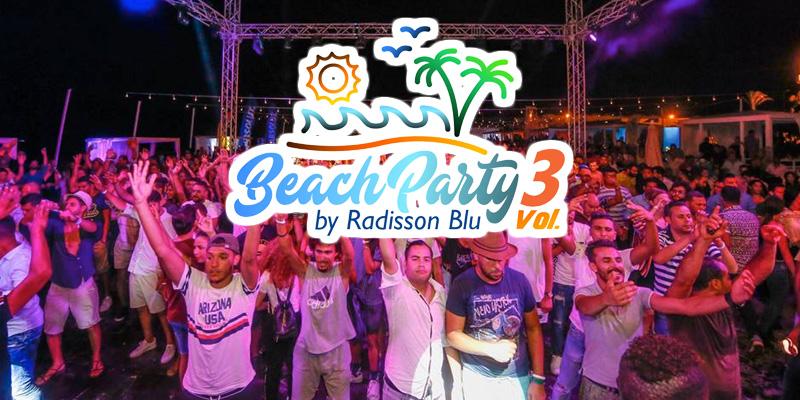 L'équipe du Radisson Blu Djerba réussit avec brio sa Beach Party vol 3
