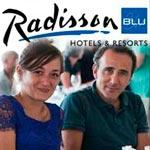 Elie Semoun et 10 célébrités en escapade au Radisson Blu Djerba