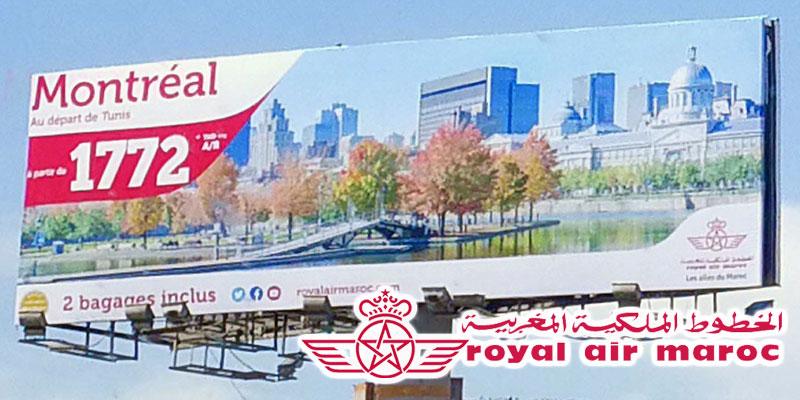 Montréal en promotion depuis Tunis sur Royal Air Maroc