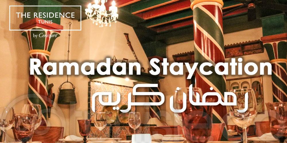 Découvrez la nouvelle offre Ramadan Staycation de 'The Residence Tunis'