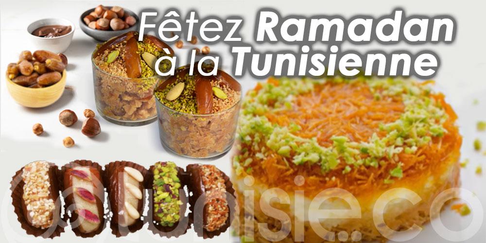 Kounefa, Madmouja, Dattes farcies ... Fêtez Ramadan à la Tunisienne !