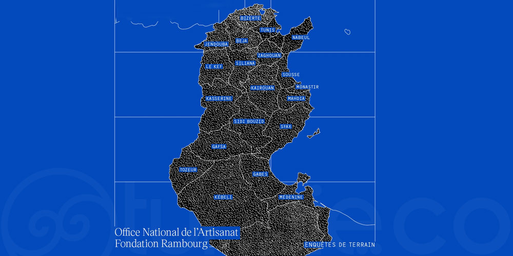 Programme d'appui à l'artisanat tunisien: Fin des enquêtes de terrain