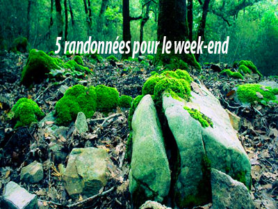 5 randonnées pour ce week-end