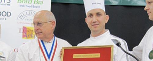 Abderraouf tebourbi nomm repr sentant officiel de l for Academie nationale de cuisine