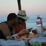 Une expérience unique de Iftar au bord de la mer au restaurant Rasta Cabana à Sidi Ali Mekki