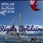Régate solidaire au profit d'Esmâani au Port de Sidi Bou Saîd ce 18 Mai