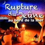 Regency Tunis Hotel : Rupture du jeûne au bord de la mer sous des paillotes