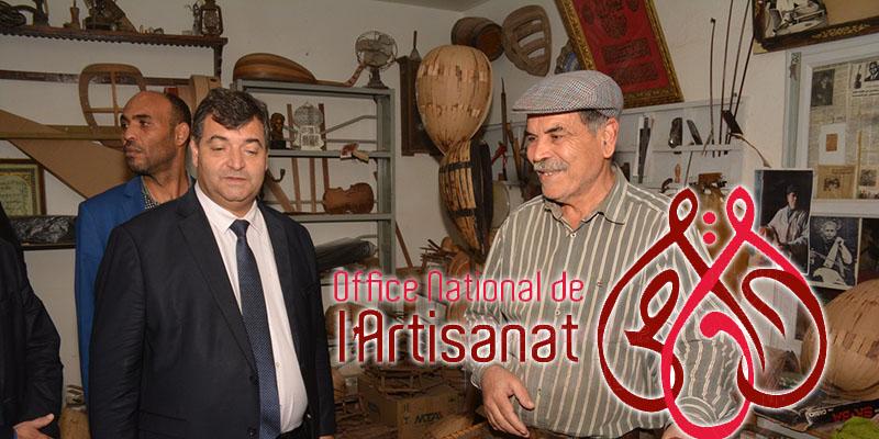 En Photos : René Trabelsi, en visite au village artisanal de Denden