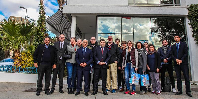 René Trabelsi rencontre une délégation de médias allemands